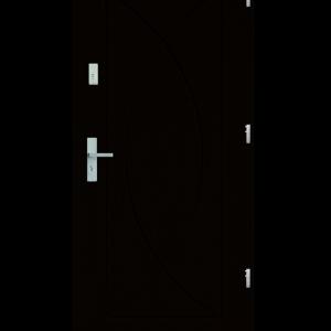 Drzwi wejściowe Eos Wenge