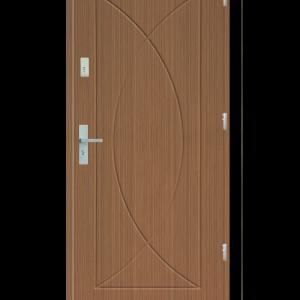 Drzwi wejściowe Eos Zebrano