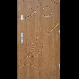 Drzwi wejściowe Galaxy Dąb Bielony