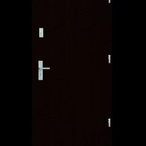 Drzwi wejściowe Galaxy Kasztan