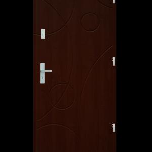 Drzwi wejściowe Galaxy Mahoń