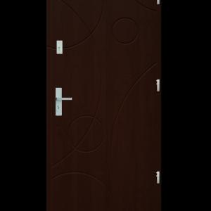 Drzwi wejściowe Galaxy Orzech Jasny