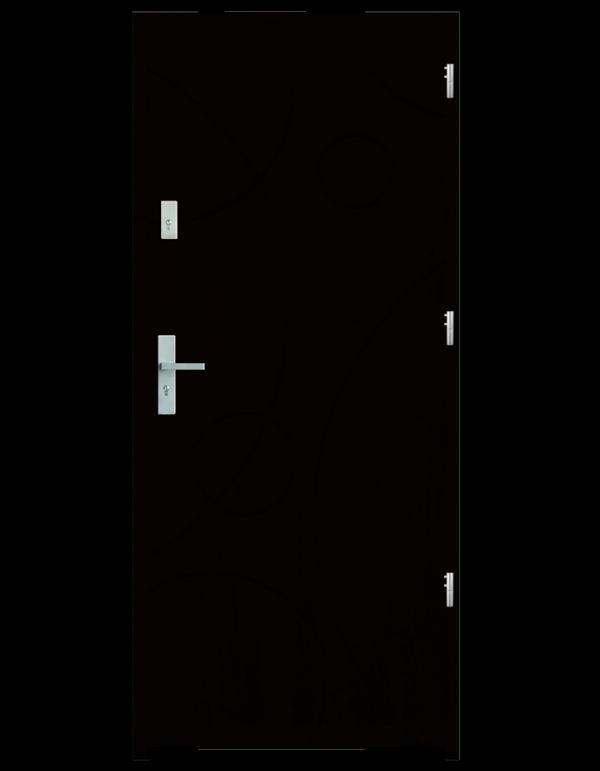 Drzwi wejściowe Galaxy Wenge