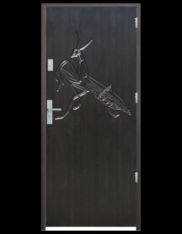 Drzwi wejściowe Indywidualne modliszka
