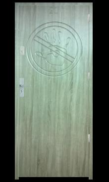 Drzwi wejściowe Indywidualne zakaz wstępu