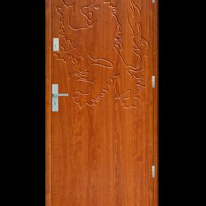 Drzwi wejściowe Indywidualne lew