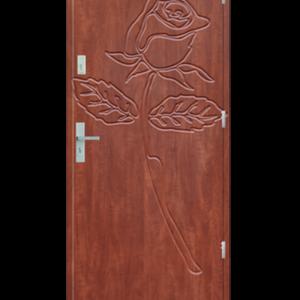 Drzwi wejściowe Indywidualne róża