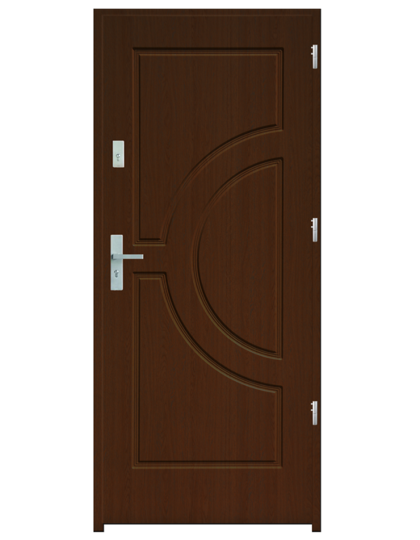 Drzwi wejściowe Helios Dąb Złoty