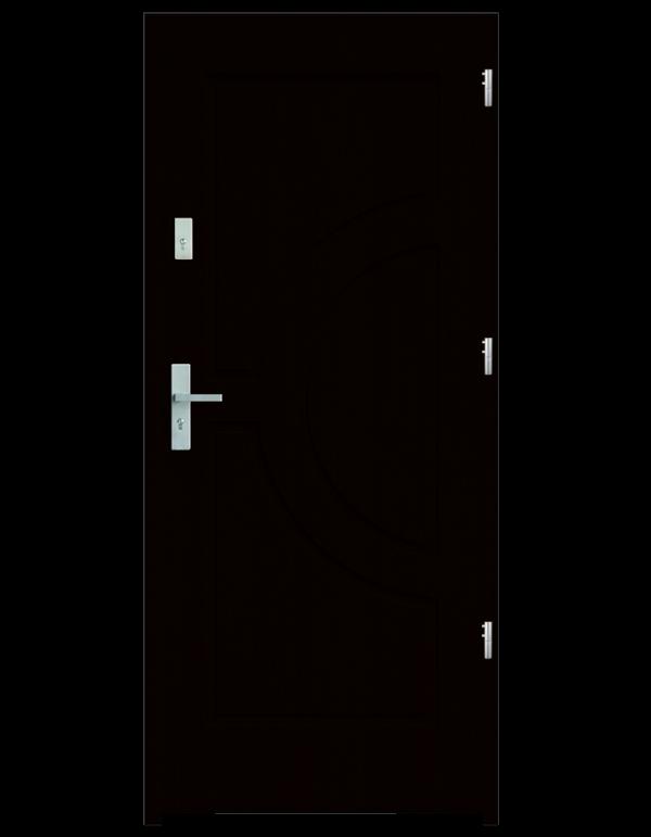 Drzwi wejściowe Helios Kasztan
