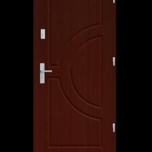 Drzwi wejściowe Helios Mahoń