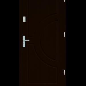 Drzwi wejściowe Helios Orzech Ciemny