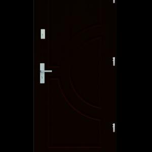 Drzwi wejściowe Helios Wenge