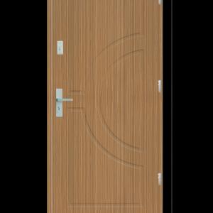 Drzwi wejściowe Helios Zebrano
