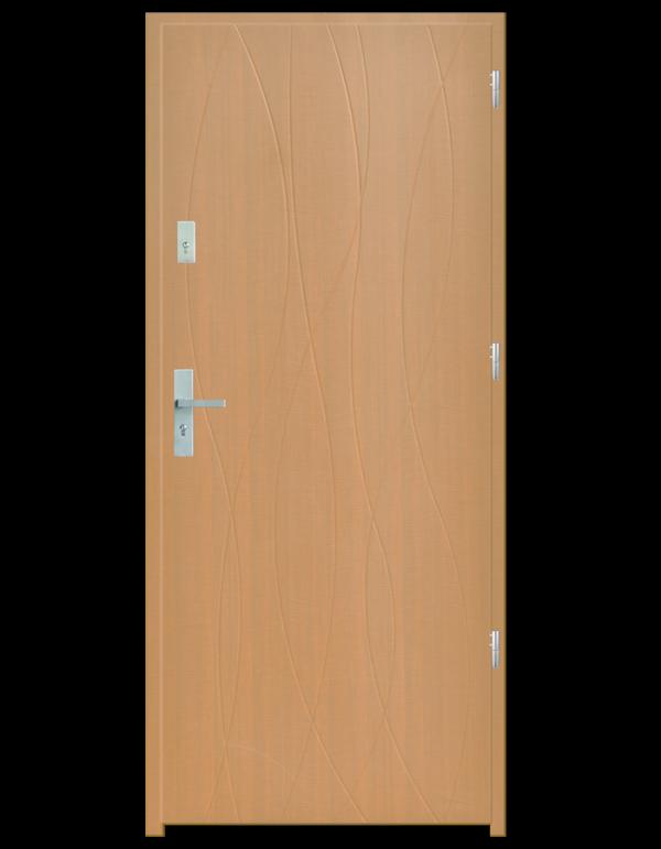 Drzwi wejściowe Hypnos Dąb Bielony