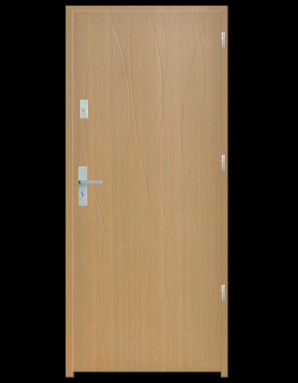 Drzwi wejściowe Hypnos Dąb Patyna