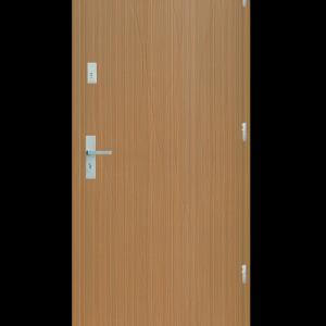 Drzwi wejściowe Hypnos Zebrano