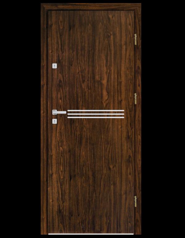 Drzwi wejściowe INOX F2