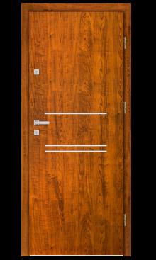 Drzwi wejściowe INOX F3