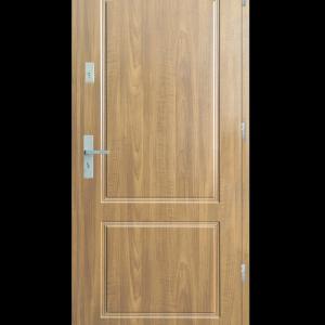 Drzwi wejściowe K20 Dąb Patyna