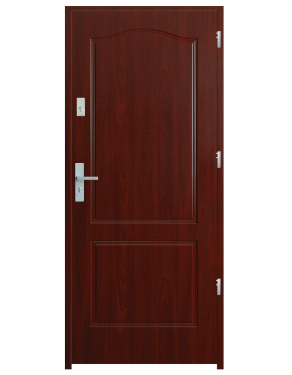 Drzwi wejściowe K20 Mahoń