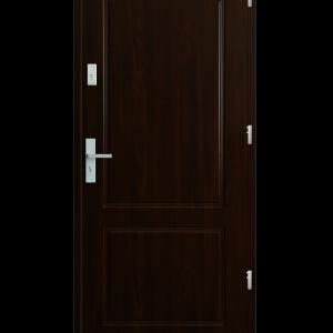 Drzwi wejściowe K20 Orzech Ciemny