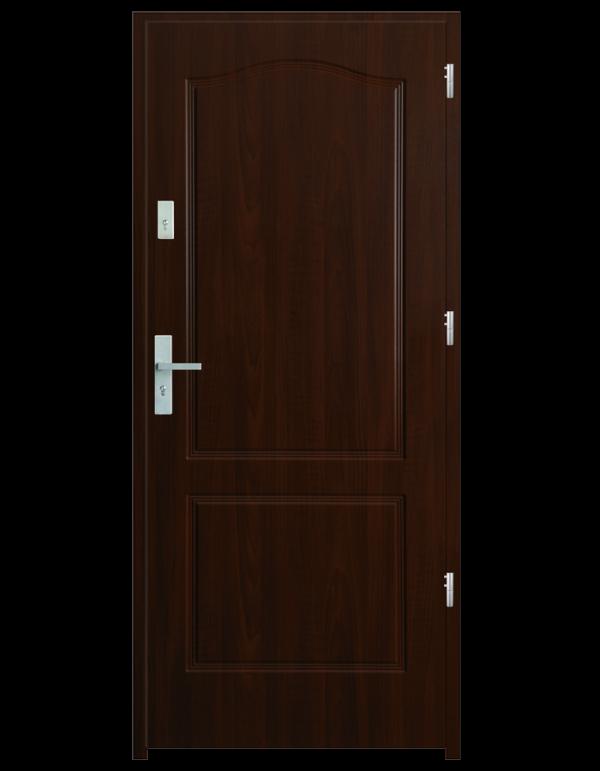 Drzwi wejściowe K20 Orzech Jasne
