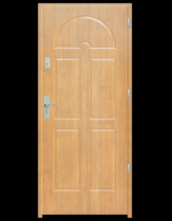 Drzwi wejściowe K8 Dąb Bielony