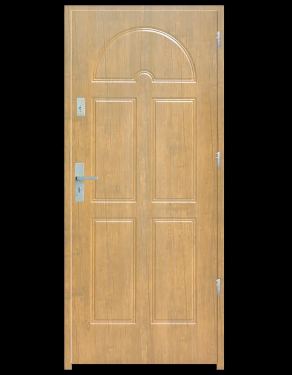 Drzwi wejściowe K8 Dąb Patyna