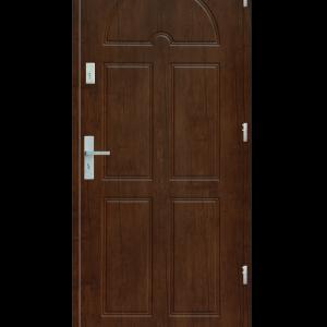 Drzwi wejściowe K8 Dąb Złoty