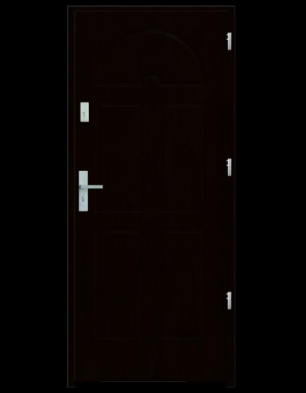 Drzwi wejściowe K8 Kasztan