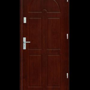 Drzwi wejściowe K8 Mahoń