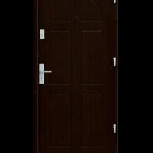 Drzwi wejściowe K8 Orzech Ciemny