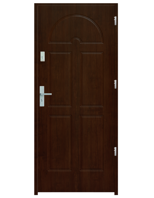 Drzwi wejściowe K8 Orzech Jasny