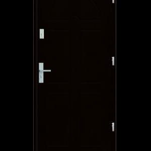 Drzwi wejściowe K8 Wenge
