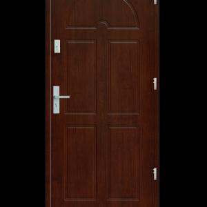 Drzwi wejściowe K8 Wiśnia