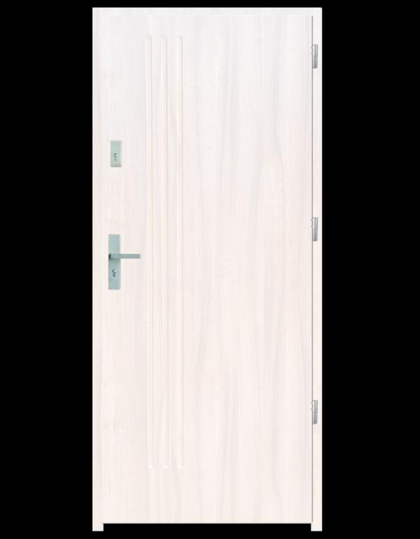 Drzwi wejściowe L3 Biały