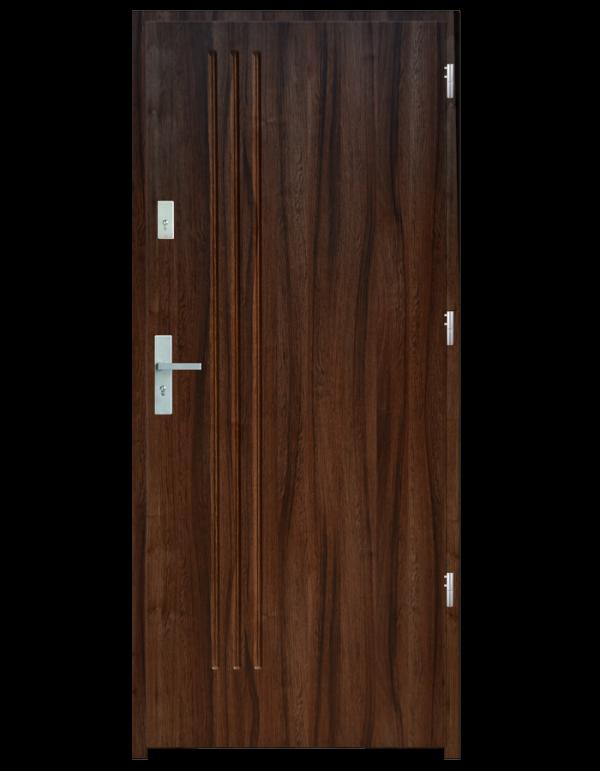 Drzwi wejściowe L3 Dąb Złoty