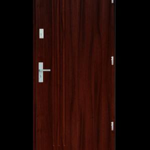 Drzwi wejściowe L3 Mahoń