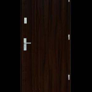 Drzwi wejściowe L3 Orzech Ciemny