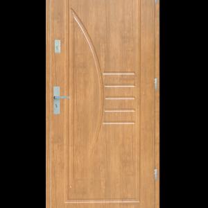 Drzwi wejściowe Łuk Dąb Bielony