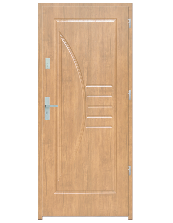 Drzwi wejściowe Łuk Dąb Patyna