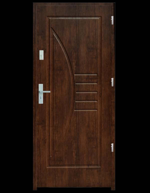 Drzwi wejściowe Łuk Dąb Złoty