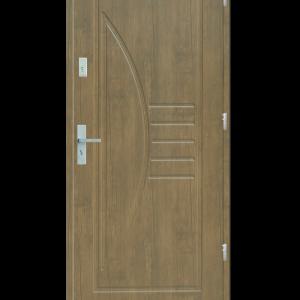 Drzwi wejściowe Łuk Jesion