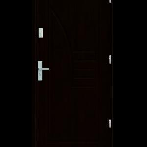 Drzwi wejściowe Łuk Kasztan