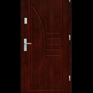 Drzwi wejściowe Łuk Mahoń