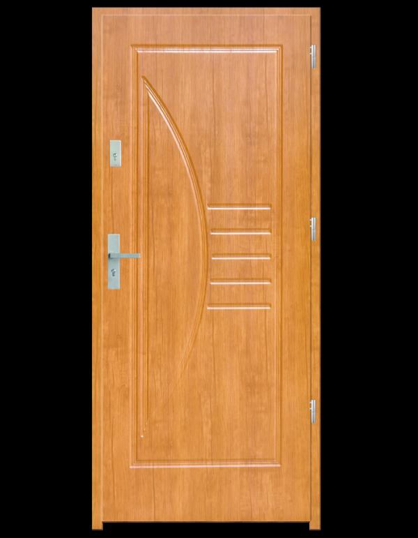 Drzwi wejściowe Łuk Olcha