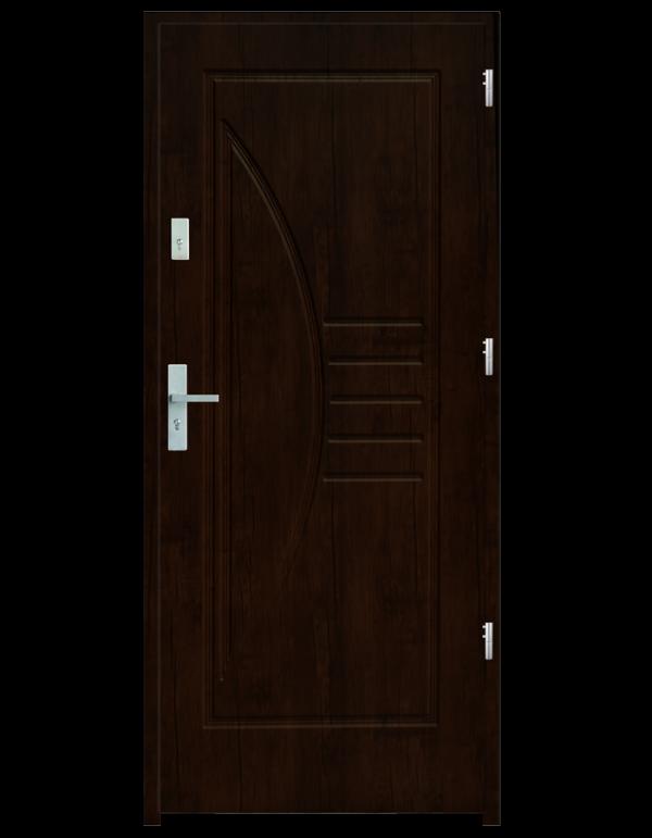 Drzwi wejściowe Łuk Orzech Ciemny