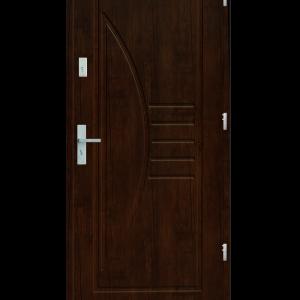 Drzwi wejściowe Łuk Orzech Jasny