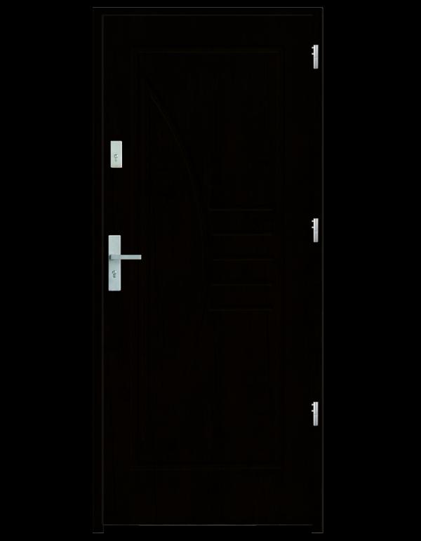 Drzwi wejściowe Łuk Wenge
