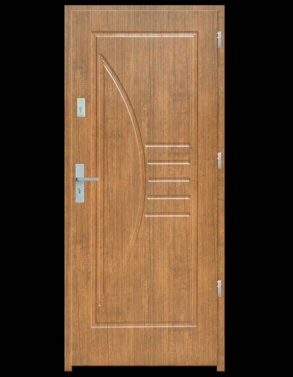 Drzwi wejściowe Łuk Zebrano